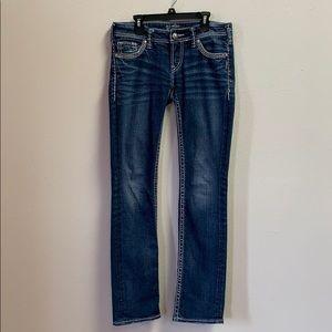 Women's Silver Jeans Size 27
